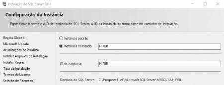 Instalação SQL server - Passo 05