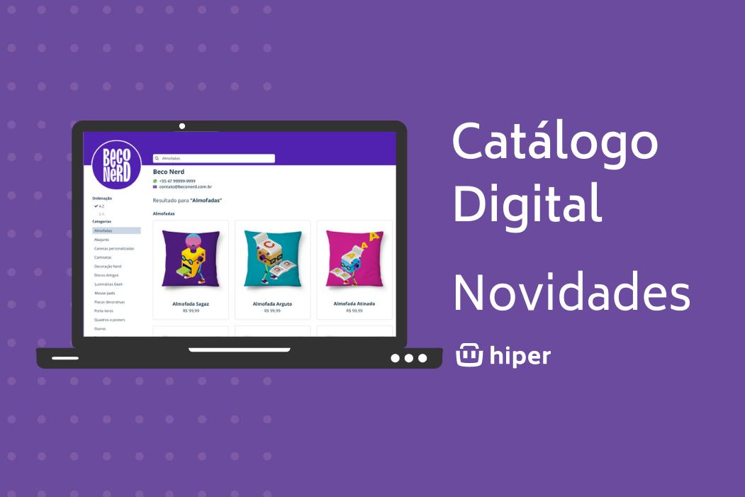 novidades no catálogo digital
